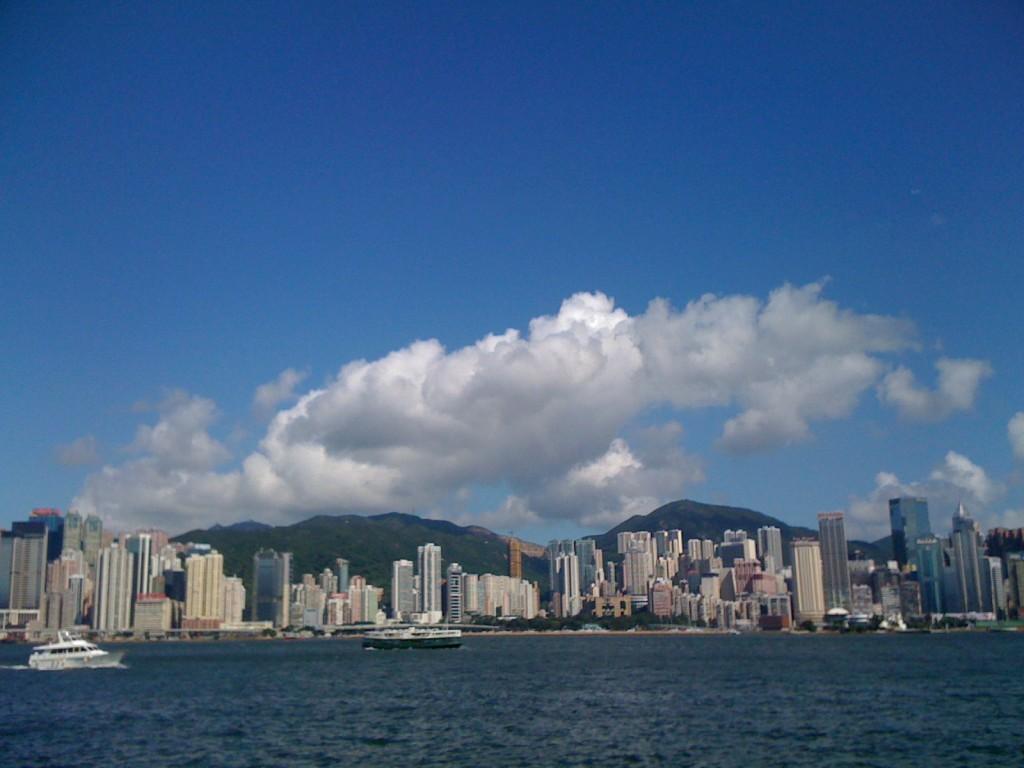 維港的藍天